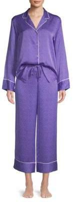 Two-Piece Printed Pajama Set