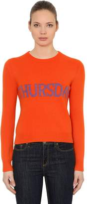 Alberta Ferretti Slim Thursday Wool & Cashmere Sweater