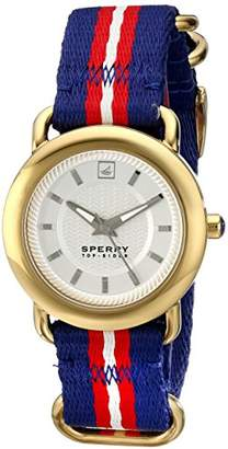 Sperry Women's 10014924 Hayden Watch with Blue Webbed Band