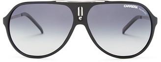 Carrera Polarized Aviator Sunglasses, 64mm $169 thestylecure.com