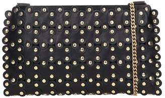RED Valentino Flower Puzzle Clutch Bag