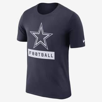 "Nike Football"" Logo (NFL Cowboys) Men's T-Shirt"