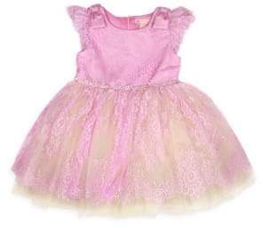 Couture Tutu Toddler's, Little Girl's& Girl's Fairytale Story Time Lace Dress