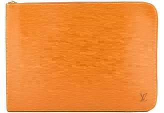 Louis Vuitton Cipango Gold Epi Poche Documents Briefcase (3950008)