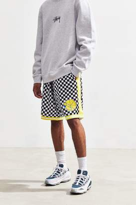 Mitchell & Ness Golden State Warriors Checkered Swingman Short