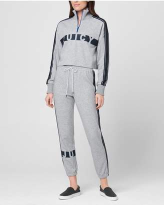 Juicy Couture JXJC Juicy Racer Stripe Terry Pullover