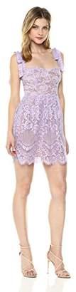 For Love & Lemons Women's Valentina Lace Mini Dress