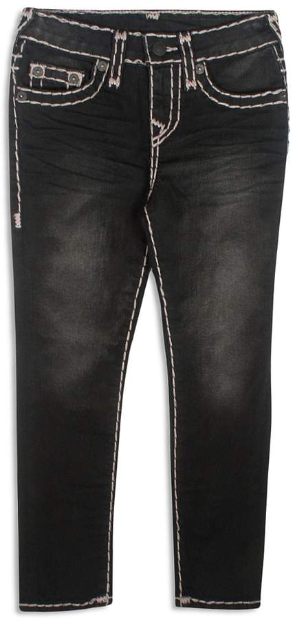 Boys' Slim-Fit Jeans with Contrast Stitching - Little Kid, Big Kid