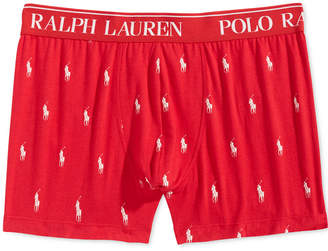Polo Ralph Lauren Men's Stretch Jersey Knit Boxer Briefs