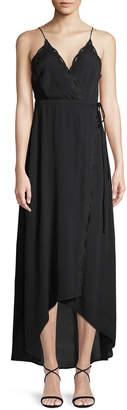 Astr Isabella Maxi Wrap Dress