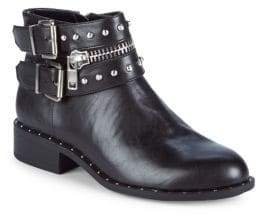 Charles by Charles David Thief Studded Moto Boots