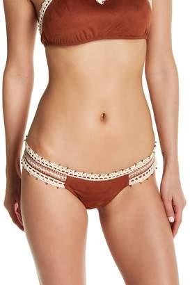 Ale By Alessandra Ever Suede Brazilian Bikini Bottoms