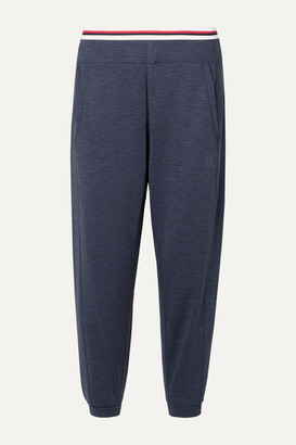 LNDR Solar Printed Stretch-jersey Track Pants - Navy