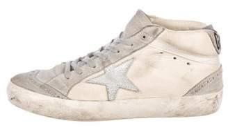 Golden Goose Mid/Star Suede Sneakers