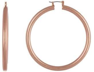 Lucky Brand Tube 55mm Hoop Earrings