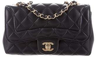Chanel Lambskin Quilted Medium Mademoiselle Chic Flap