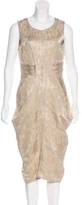 Zero Maria Cornejo Linen-Blend Dress