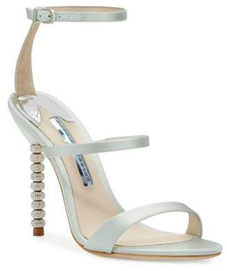 Sophia Webster Rosalind Strappy Bridal Sandal, Ice Blue