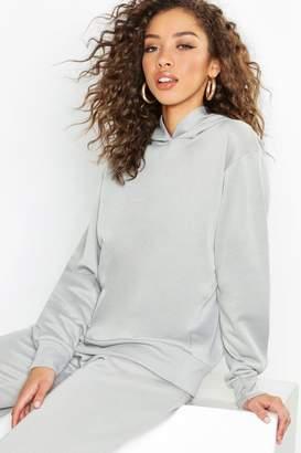 boohoo Basic Overhead Sweater Hooded