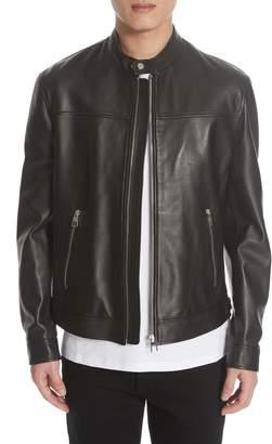 Versace Lambskin Leather Jacket