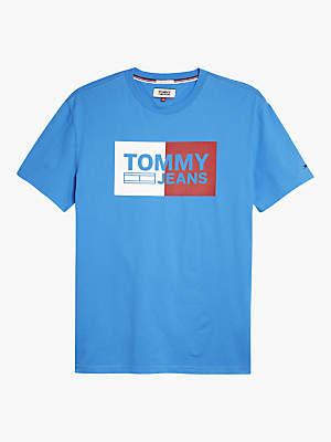 Tommy Hilfiger Tommy Jeans Split Box Short Sleeve Logo T-Shirt