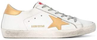 Golden Goose White Gold Superstar sneakers