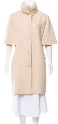 Martin Grant Virgin Wool Knee-Length Coat