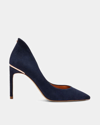 Ted Baker SAVIO Curved high back suede courts