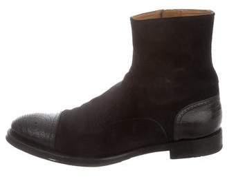 Gucci Cap-Toe Chelsea Boots