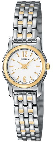 Seiko® Two-Tone Round Watch