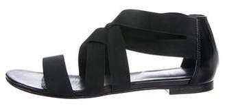 Stuart Weitzman Strappy Elasticized Sandals