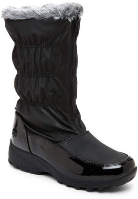 totes Black Rachel Waterproof Snow Boots $75 thestylecure.com