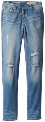 AG Adriano Goldschmied Kids Super Skinny Jeans in Lightening Blue Girl's Jeans
