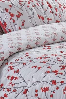 California Design Den by NMK Jasmine King Sized 3-Piece Quilt Set - Coral