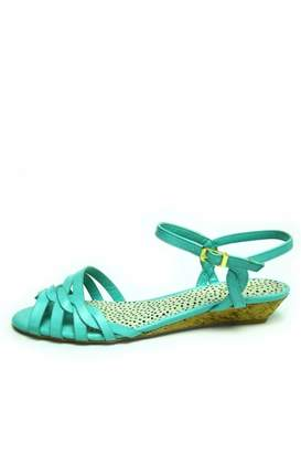 Bamboo Braided Mint Sandal $22.50 thestylecure.com