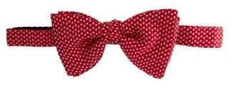 Bottega Veneta Polka Dot Silk Bow Tie
