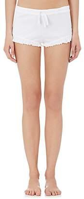 Skin Women's Pima Cotton Drawstring Shorty Briefs - White