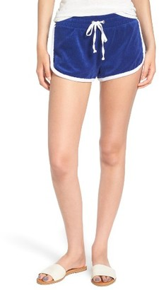 Women's Juicy Couture Venice Beach Microterry Shorts $64 thestylecure.com