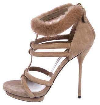 b135d5c69 Gucci Peep Toe Women's Sandals - ShopStyle