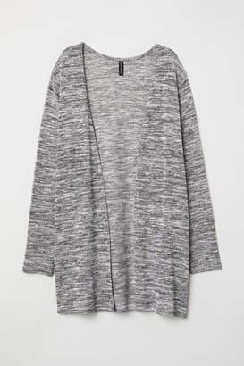 H&M Fine-knit Cardigan - Black