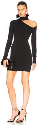 Dion Lee Spiral Sleeve Mini Dress