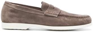 Fratelli Rossetti laceless boat shoes