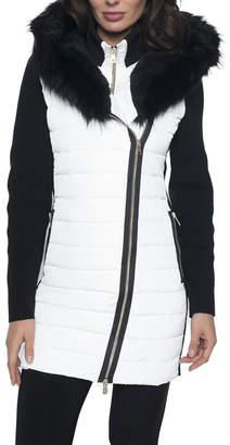 Frank Lyman Black & White Winter Coat