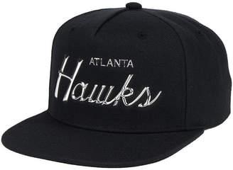 Mitchell & Ness Atlanta Hawks Metallic Tempered Snapback Cap