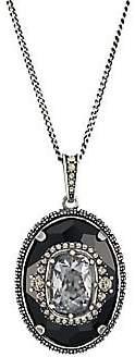 Alexander McQueen Women's Swarovski Crystal Pendant Necklace