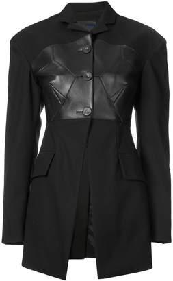 Proenza Schouler bustier-effect blazer