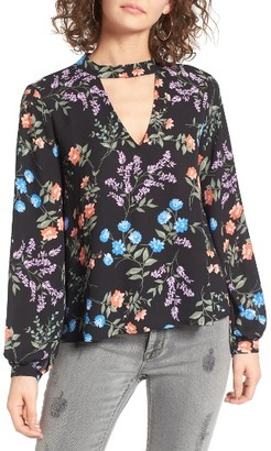 Women's Lush Cutout Blouse $45 thestylecure.com