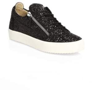 Giuseppe Zanotti Low-Top Leather Sneakers