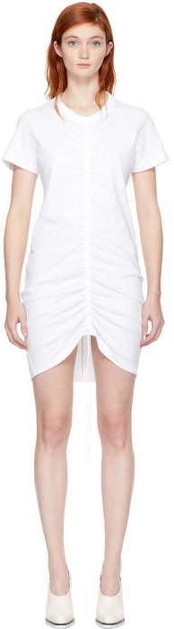 Alexander Wang White High Twist Dress