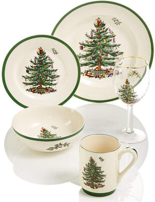 Spode Christmas Tree Dinnerware Collection